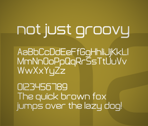 Not Just Groovy